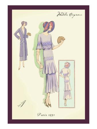 Springtime Dress in Lavender