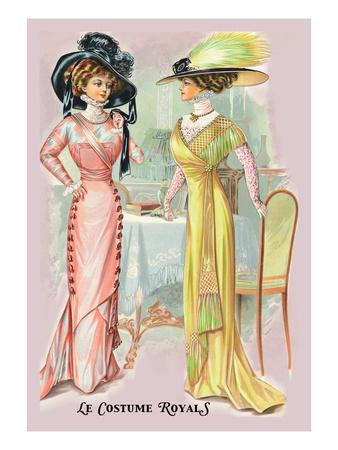 Le Costume Royals: A Splendid Pair