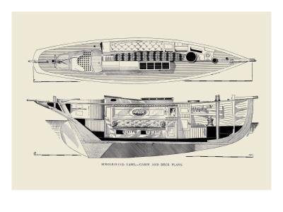 Single-Hand Yawl Cabin and Deck
