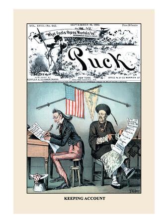 Puck Magazine: Keeping Account