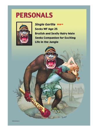 Personals: Single Gorilla