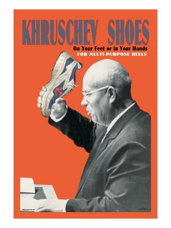 Khruschev Shoes: On Your Feet or in Your Hands