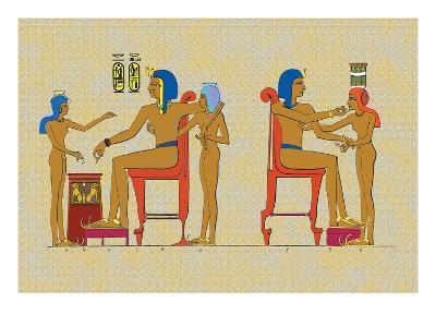 Ramses III Playing at Draughts