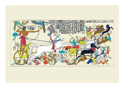 Battle Scene of Seti I and the Khita