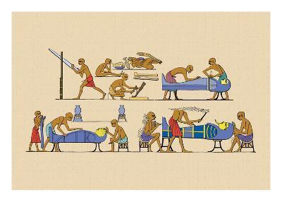 Preparing the Mummy