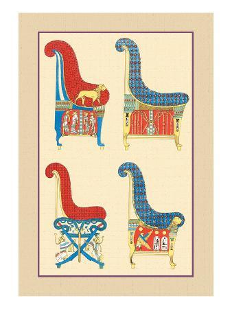 Ancient Egyptian Chairs