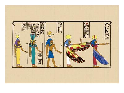 Hek, Isis and Khu