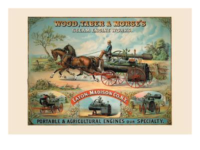 Wood, Taber and Morse's Steam Engine Works