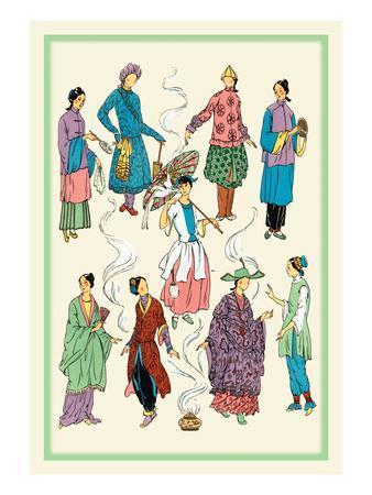 Feminine Chinese Fashions