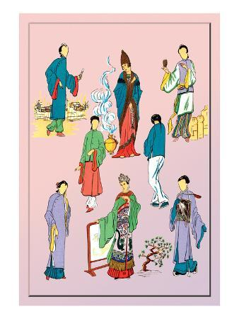 Assorted Chinese Costumes
