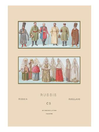 Russian Historical Figures and Popular Costumes