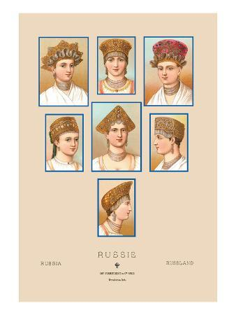 Russian Hats and Hairstyles