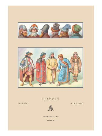 Masculine Fashions of Russia