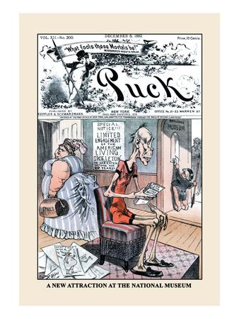 Puck Magazine: A New Attraction at the National Museum