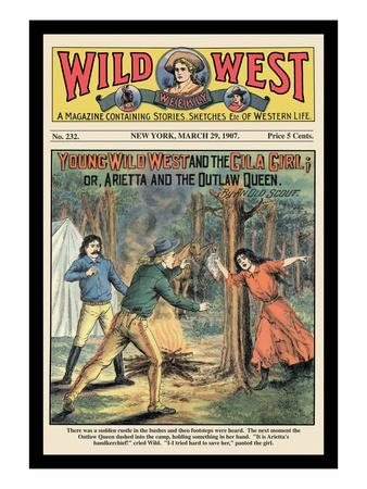 Wild West Weekly: Young Wild West and the Gila Girl