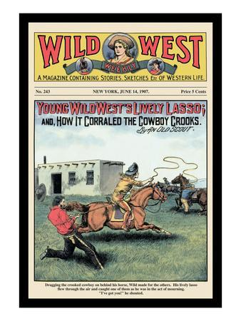 Wild West Weekly: Young Wild West's Lively Lasso