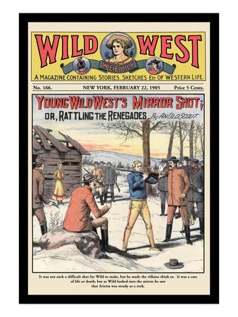 Wild West Weekly: Young Wild West's Mirror Shot