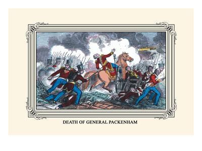 Death of General Packenham