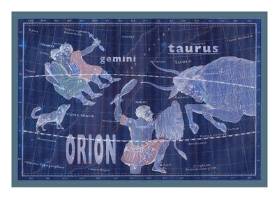 Taurus, Orion and Gemini