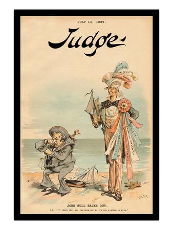 Judge Magazine: John Bull Backs Out