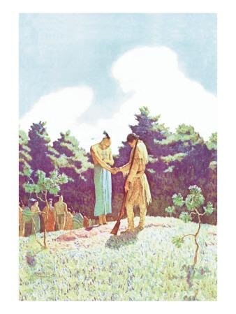 The Burial of Uncas