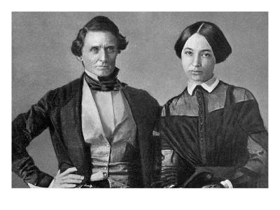 Jefferson Davis and His Wife
