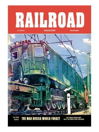 Railroad Magazine: The Virginian, 1952
