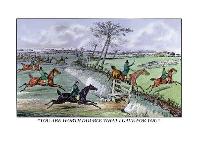Hunters Clear the Ditch