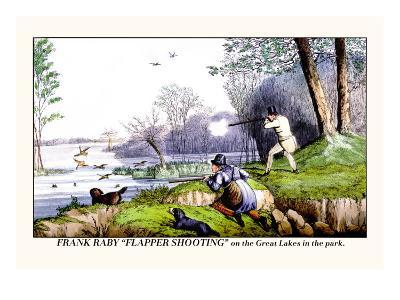 Frank Raby Flapper Shooting on the Great Lakes in the Park