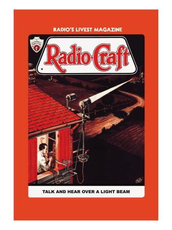 Radio-Craft: Talk and Hear over a Light Beam