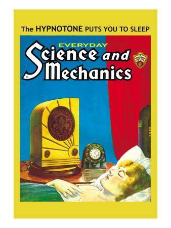 Everyday Science and Mechanics: The Hypnotone Puts You to Sleep