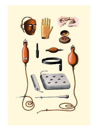 Assorted Rubber Medical Accessories
