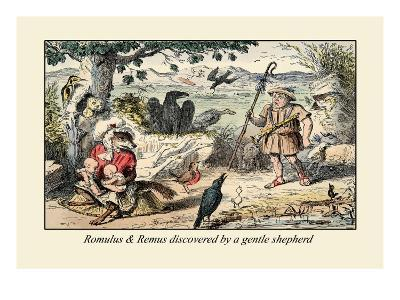 Romulus and Remus Discovered by a Gentle Shepherd