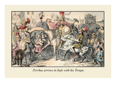 Pyrrhus Arrives in Italy with His Troupe