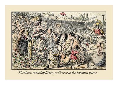 Flaminius Restoring Liberty