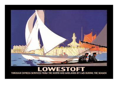 Lowestoft: Through Express Services from the North and Midlands by LMS