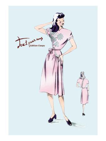 Summer Dress with Oriental Flair