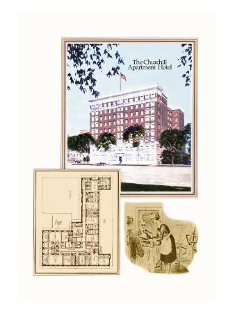 The Churchill Apartment Hotel