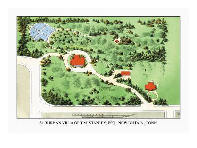 Suburban Villa of T.M. Stanley, Esq., New Britain, Connecticut