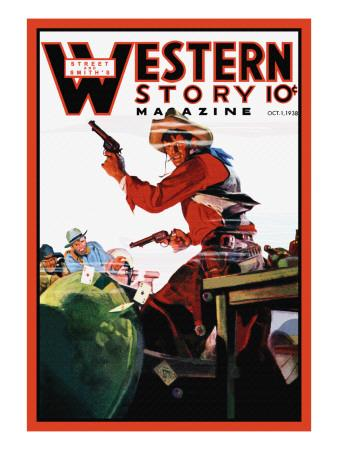 Western Story Magazine: The Card Game