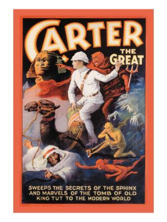 Carter the Great: Secrets of the Sphinx