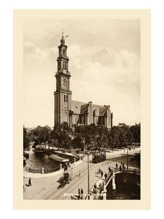 Westmarkt Met Westerkerk, Amsterdam