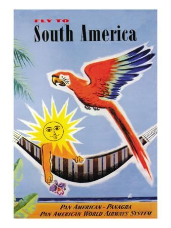 Fly to South America