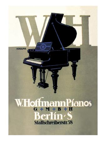 W. Hoffman Pianos, Berlin