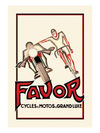 Favor Cycles and Motos de Grand Luxe