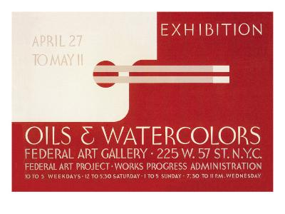 Oils and Watercolors Exhibition: Federal Art Gallery