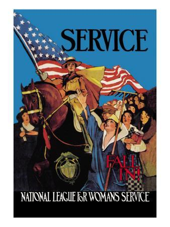 National League for Woman's Service
