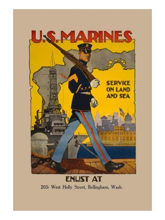 Active Service on Land and Sea