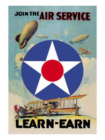 Join the Air Service, Learn and Earn