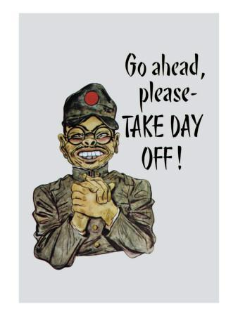 Go Ahead, Take Day Off